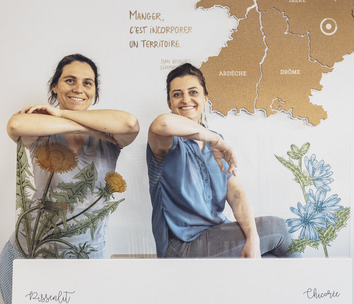 Elodie Illes et Natacha Bazoge